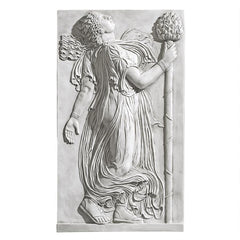 Dancing Greek Maenad with Thyrsus: Left Wall Frieze (5th century BC)