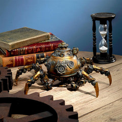 Octopod Mechanical Steampunk Sculpture