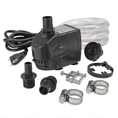 UL-listed, indoor/outdoor, 290 GPH Pump Kit
