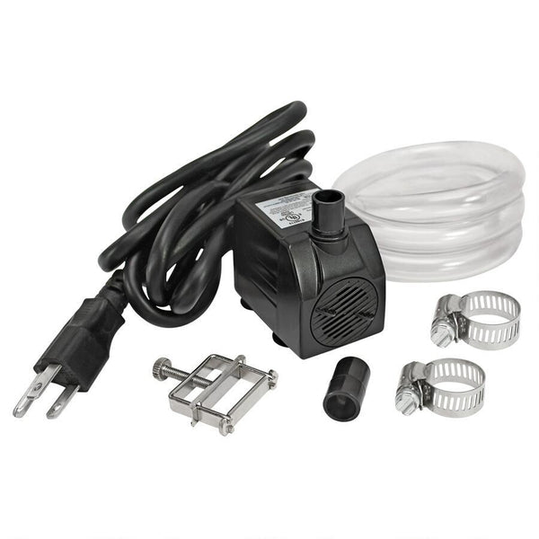 UL-listed, indoor/outdoor, 120 GPH Pump Kit