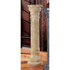 Verona Solid Marble Column: Large