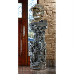Crypt Demons Gothic Dragon Sculptural Column
