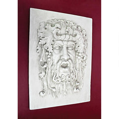 Opimus, God of the Grapes Italian-style Wall Sculpture: Medium