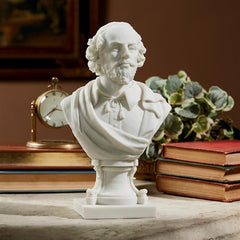 William Shakespeare (1564-1616) Bonded Marble Resin Sculptural Bust