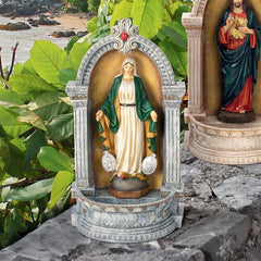 Virgin Mary of the Miraculous Medal Italian-Style Font Statue