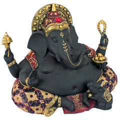 Lord Ganesha Fat Belly Elephant God Hindu Statue