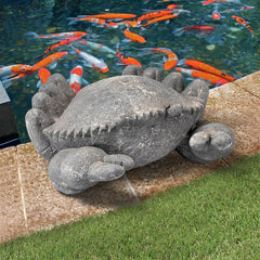 Cantankerous Stone Crabs Garden Statues: Large
