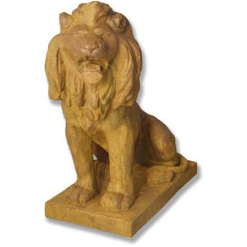 Lion 36 Facing Left Garden Animal Statue