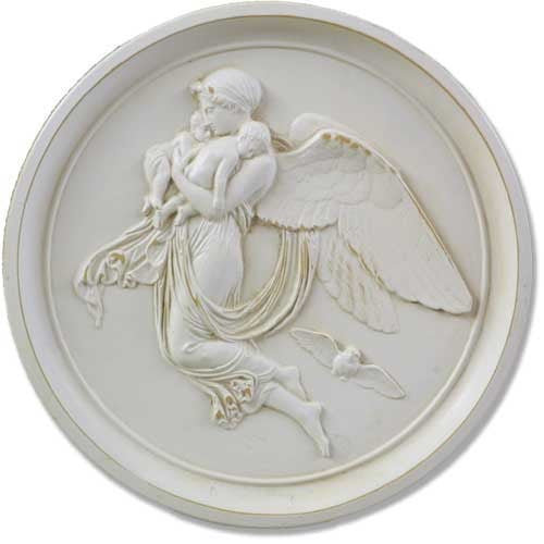 Angel Roundel-Night Garden Angel Statue