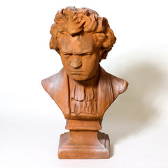 Beethoven Bust with Shirt 26 Animal Busts  Sculpture