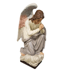 Adoration Kneeling Angel (praying) 56 Animal Angel Sculpture