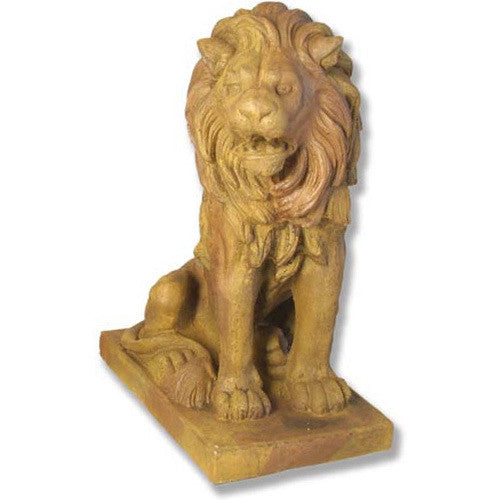 Lion 36' Facing Right Garden Animal Statue