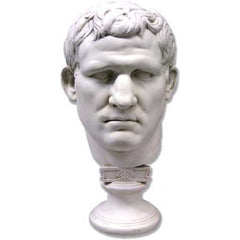 Marcus Vipsanius Agrippa Mask -  Greek & Roman Busts
