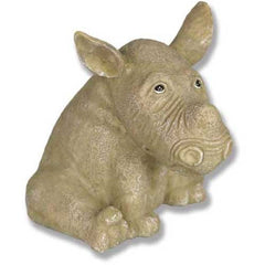 Zoe The Rhino 4 Garden Animal Statue