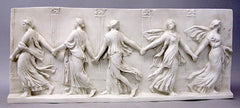 Bacchantes Dancing Frieze 17  Wall  Sculpture