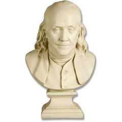 Franklin Bust by Houdon 23 -  Famous Americans Busts