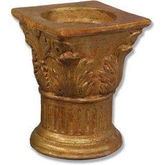 Wedding Capital Candleholder Religious Sculpture