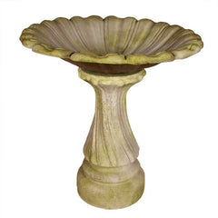 Blooming Birdbath Garden Display