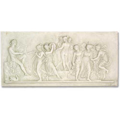 Apollo And Muse Frieze  Wall Decor