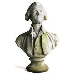 Thomas Jefferson 29 By Houdon -  Famous Americans Busts