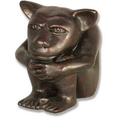 "Dedo Gargoyle Medium 6""H Gargoyle Sculpture"