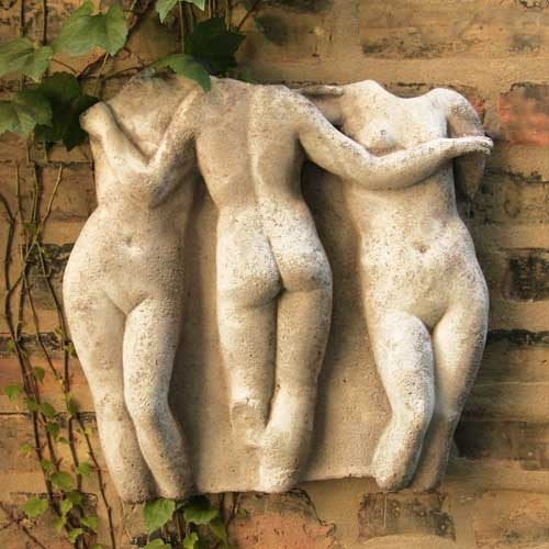 Three Graces Frieze 31  Wall Decor