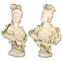 XoticBrands Victorian Mother Bust 32 French Terracotta Sculpture - Busts