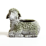 Lamb Planter Garden Animal Statue