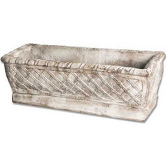 Rectangular Weave Pot 8 Garden Display