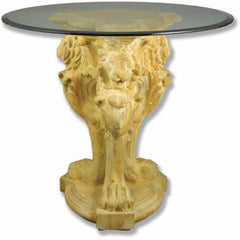 Lion Leg Table Base 33 - Architectural   Tables & Table Bases
