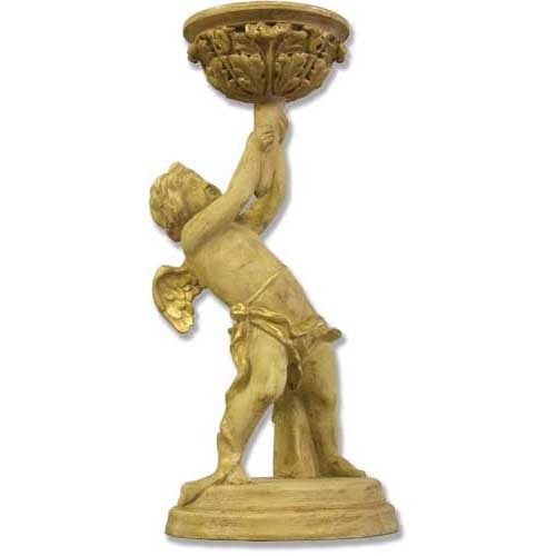 Burden Angel Candleholder Garden Angel Statue