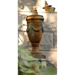 Finial of San Marino with Lid 32 - Architectural   Urns