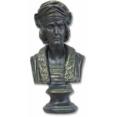Christopher Columbus Sm. -  Historical Figures Busts