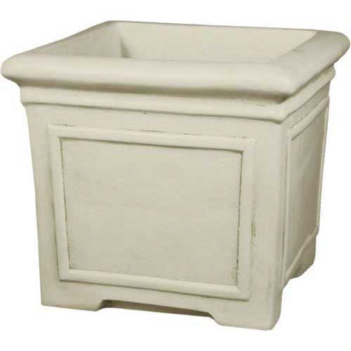 Square Pot With Lines24.5X21 Garden Planter