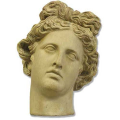 "Apollo Antiquity Head 10""H -  Greek & Roman Busts"
