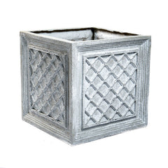 16 Lattice Box 15.5 H (R) Garden Planter