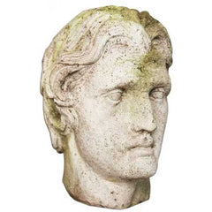 Alexander The Great Head 12 -  Greek & Roman Classical  Sculpture