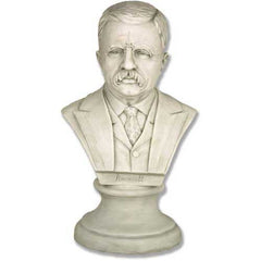 XoticBrands Roosevelt Bust 12 -  Famous Americans Busts