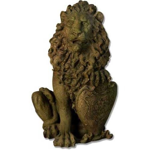 Richelieu Lion-Left 26 Garden Animal Statue