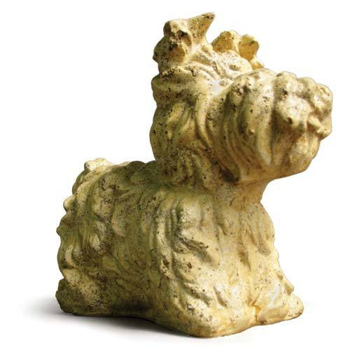 Yorkie Dog Garden Animal Statue