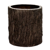 Oak Bark Planter Medium Garden Display