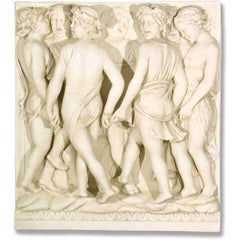 Cantoria Frieze/Dancing 42 Sculpture - Wall
