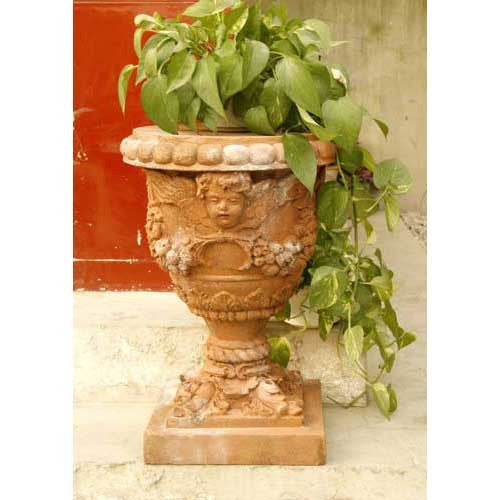 Robbia Angel Planter 24 Garden Display