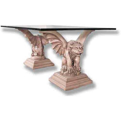 Tuscan Gargoyle Cocktail-Set - Architectural   Tables & Table Bases