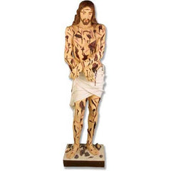 XoticBrands Scourged Christ 60 Religious Sculpture