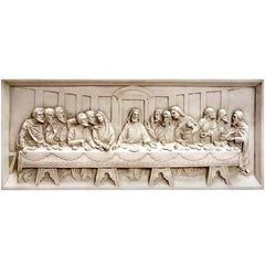 Last Supper Wall Relief 25 Religious Sculpture