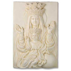 XoticBrands Mother & Child Plaque Rec 25 Religious Sculpture