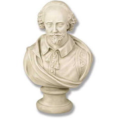 Shakespeare Med 18 H -  Writers & Poets Busts