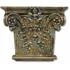 Corinthian Facade  Wall Decor