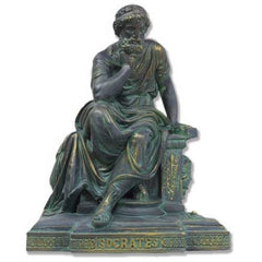 Socrates Seated -  Philosophers Busts
